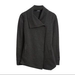 Stitch Fix Kensie Mally Ponte Jacket charcoal gray